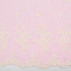 CARMEN Embroidered Rayon - Pink