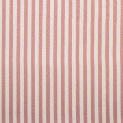 VICTORIA Satin - Stripes - Dusty pink