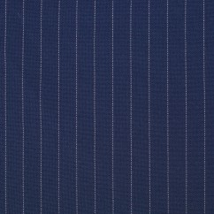 PIN STRIPE coordinate Suiting - Navy