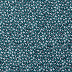 CECEE Rayon Voile Coordinate - Daisy - Turquoise