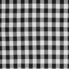 MARILLA Checks and Stripes - Checks - Black