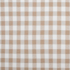 MARILLA Checks and Stripes - Checks - Beige