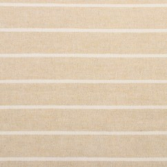 ALEXA Chambray Coordinate - Large stripes - Beige