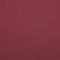 AGNES Wool Blend Jacketing - Burgundy