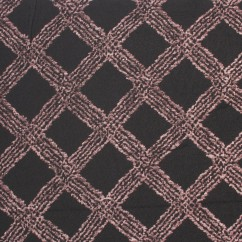 BERNETA Spandex Knit - Trellis - Brown