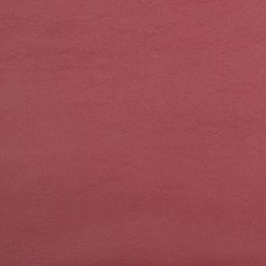 Leatherette Bonded To Fur - Burgundy