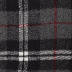 Kashmir Plaid Jacketing - Burberry - Grey