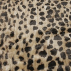 Luxury Faux Fur - Animal - Camel