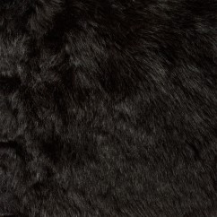 Luxury Faux Fur - Black 4