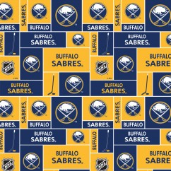 Buffalo Sabres - NHL Cotton Print - Patchwork