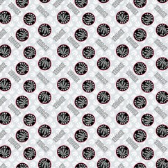 Toronto Raptors - NBA cotton prints - White