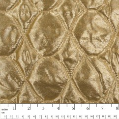 Quilted Fantasy Lurex - Gold