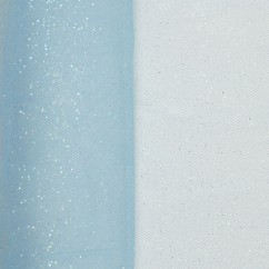 Glitter Tulle - Cindy Blue