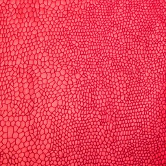 Metallic Knit - Mosaic - Red