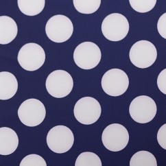 Bathing Suit Print - Dots - Navy