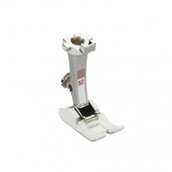 Bernina - Zigzag foot with non-stick sole #52 9mm with sliding sole