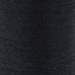 COATS COTTON COVERED BOLD HAND QUILT THREAD  160M/175YD - BLACK
