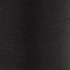 COATS COTTON COVERED THREAD  457M/500YD BLACK