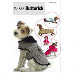 B4885 Dog Coats (size: All Sizes In One Envelope)