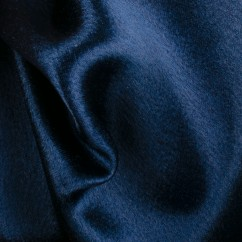 Crystal Satin Back Crepe - Midnight blue