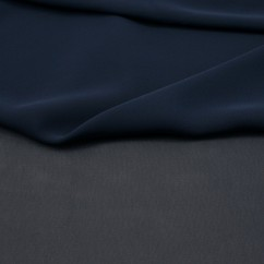 Clichy Chiffon - Midnight blue