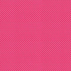 BABYVILLE BOUTIQUE WATERPROOF PUL FABRIC SASSY PINK DOTS 165CM (64 INCHES)