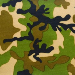 Babyville Boutique Waterproof PUL Fabric Camo 165cm (64 inches)
