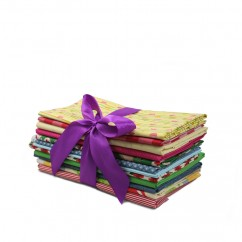 Quilting Cotton Remnants Bundle - 01