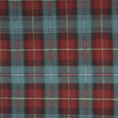 Anti-pill fleece tartans - PEI
