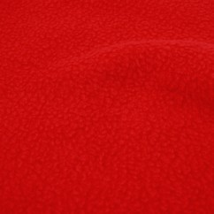 Anti-pill Arctic Fleece Solids - Bright Red