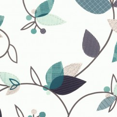 Home Decor Fabric - Signature Hamlet 1019 - blue, turquoise, white