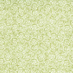 Home Decor Fabric - Signature Heidi 1022 - green, white
