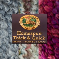 Lion Brand Yarn - Homespun Thick & Quick