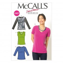 M6964 Misses' Tops (size: 16-18-20-22-24)