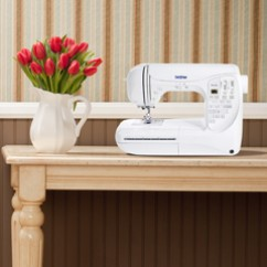 BROTHER PC210 COMPUTERIZED SEWING MACHINE - 50 stitches