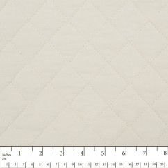 Quilted Back to Back Broadcloth  - Ivory