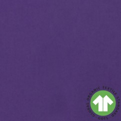 ORGANIC Solid Cotton - Ultra violet