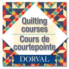 Dorval - Introduction to Quilting - Day - Mondays, October 21