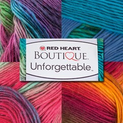 Red Heart - Boutique Unforgettable 100g