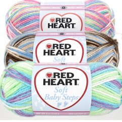 RED HEART SOFT BABY STEPS 113G