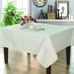 Jacquard Tablecloth - Stella - Ivory