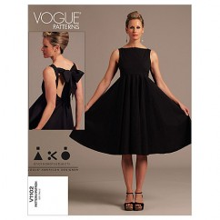 V1102 Misses' Dress - Misses (Size: AA (6-8-10-12))