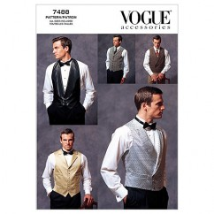 V7488 Men's Vests - Mens (Size: All Sizes in One Envelope)