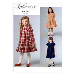 V9042 Children's/Girls' Dress - Child Only (Size: CDD (2-3-4-5))