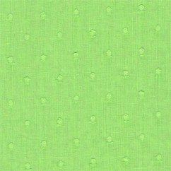 BIBI Cotton Swiss Dot - Green