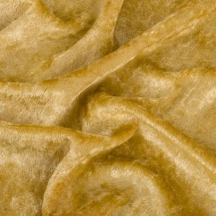 Crushed Panne Velour - Antique Gold