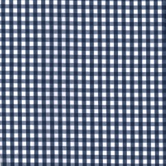 Gingham Check - Royal 1/4""