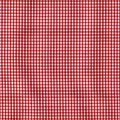 Gingham 1/8 Inch - Red