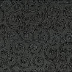 Home Decor Fabrics - Crypton Clematis 9006 Graphite