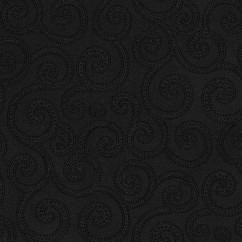 Home Decor Fabrics - Crypton Clematis 9009 Black
